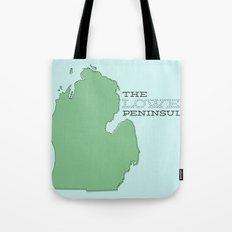 The Lower Peninsula Tote Bag