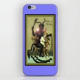 KRAMPUS 2 iPhone Skin