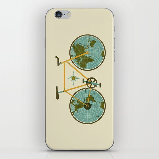 Ride For The World iPhone & iPod Skin