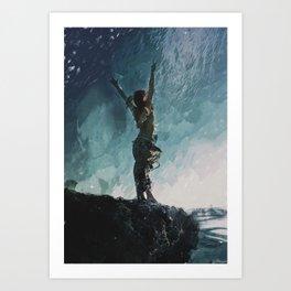 Edge Art Print