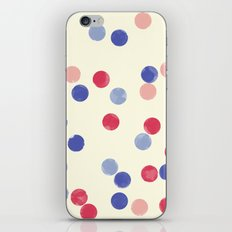 WATERCOLOR CONFETTI iPhone & iPod Skin