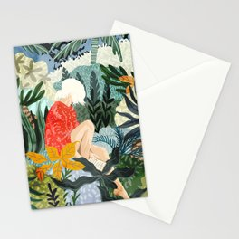 The Distracted Reader Stationery Cards