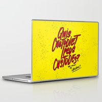 watchmen Laptop & iPad Skins featuring Watchmen by Chelsea Herrick