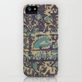 Elephant Batik iPhone Case