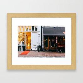 Centrum - Amsterdam, The Netherlands - #4 Framed Art Print
