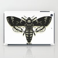 moth iPad Cases featuring Moth by Nick Rissmeyer