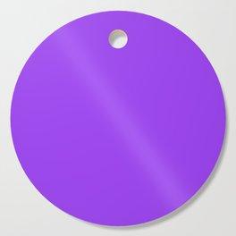 Bright Fluorescent Neon Purple Cutting Board