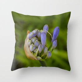 Birth of a Lily Throw Pillow