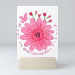 Breast Cancer Awareness Mini Art Print