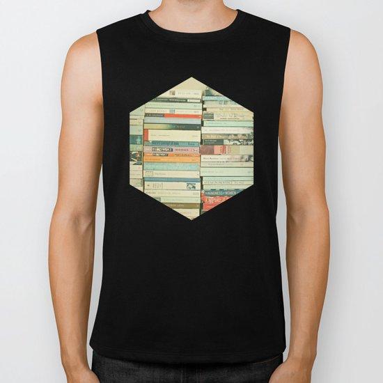 Bookworm Biker Tank