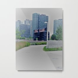 Long Island City Sign Metal Print