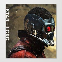 Star-Lord Digital Painting  Canvas Print