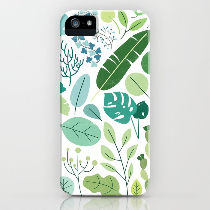 Botanical Chart iPhone Case