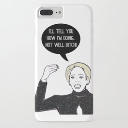 Not Well iPhone Case