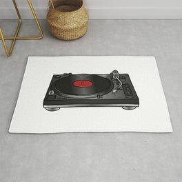 Vinyl record player Rug