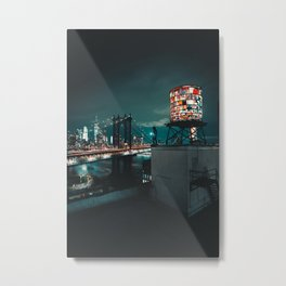 The Water Tower New York City (Color) Metal Print