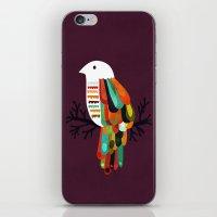 paradise iPhone & iPod Skins featuring Paradise by Picomodi