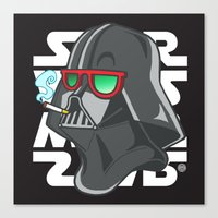 darth Canvas Prints featuring Darth by Octofly Art