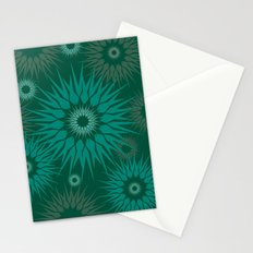 Dark Spiky Burst Stationery Cards