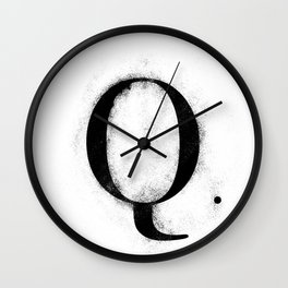 Q. - Distressed Initial Wall Clock