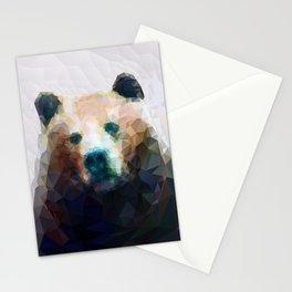 Wild Bear Low Poly Geometric Minimalist Design Stationery Cards