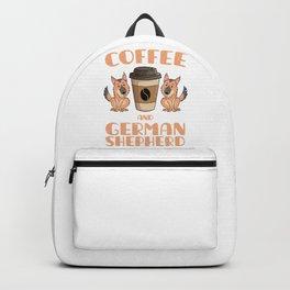 Coffee And Shepherd Backpack