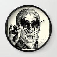 heavy metal Wall Clocks featuring Heavy metal by DIVIDUS DESIGN STUDIO