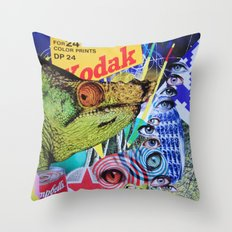 Kodak Moment Throw Pillow