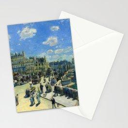 "Auguste Renoir ""Pont Neuf, Paris"" Stationery Cards"