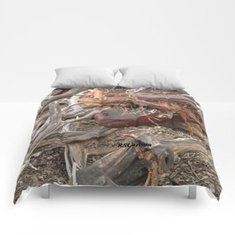 TEXTURES - Manzanita Drought Conditions #4 Comforters