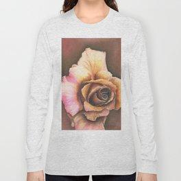 Earth Tone Rose Long Sleeve T-shirt