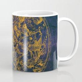 Vintage Constellations & Astrological Signs | Purple Galaxy Coffee Mug