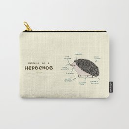 Anatomy of a Hedgehog Carry-All Pouch