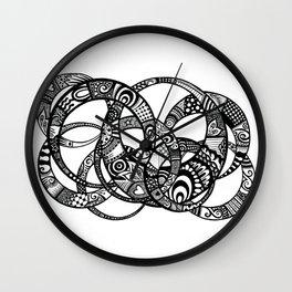 Interlinking Wall Clock