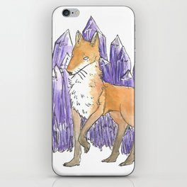 Fox's Amethyst iPhone Skin