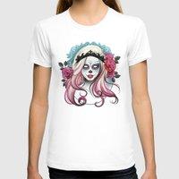 dia de los muertos T-shirts featuring ¡Dia de los Muertos! by Tati Ferrigno