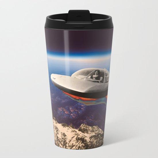 Sky mountain Metal Travel Mug