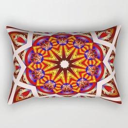 *Star Flower Council* Rectangular Pillow