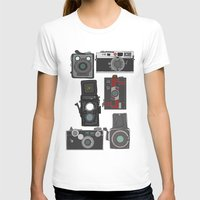 cameras T-shirts featuring Cameras by Illustrated by Jenny