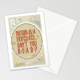 Nature is a Language: The Smiths Lyrics Stationery Cards