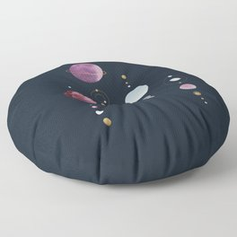 Infinite Moons : The Shadows Floor Pillow