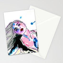 Sieben Mädchen. Stationery Cards