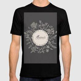 Dear Sassenach in Grey T-shirt