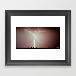 Line of Sight Framed Art Print