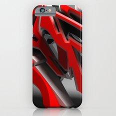 Raptor 3d graffiti  iPhone 6s Slim Case