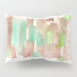 [161228] 8. Abstract Watercolour Color Study |Watercolor Brush Stroke Pillow Sham
