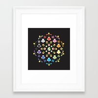 yoshi Framed Art Prints featuring Yoshi Prism by Ashley Hay