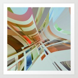 Abstract Composition 574 Art Print
