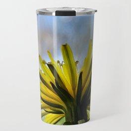 Yellow Flower 2 Travel Mug