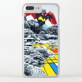 Mondrian Z Clear iPhone Case